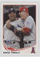Mike Trout (With Robinson Cano)