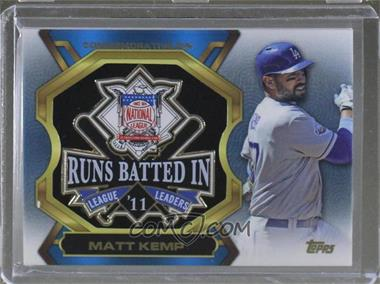 2013 Topps Update Series - League Leaders Pins #LLP-MK - Matt Kemp