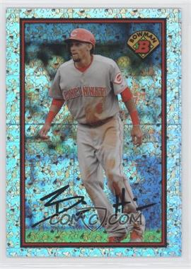 2014 Bowman - 1989 Bowman is Back - Silver Diamond Refractor #89BIB-BH - Billy Hamilton