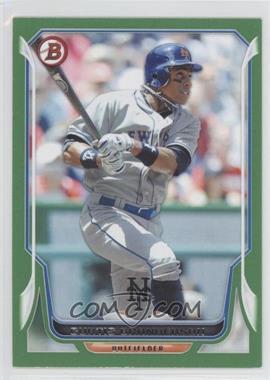 2014 Bowman - [Base] - Green #58 - Curtis Granderson /150