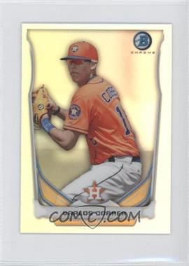 2014 Bowman - Bowman Scout Top 5 Prospects Mini Chrome Refractors #BM-HA1 - Carlos Correa