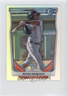 2014 Bowman - Bowman Scout Top 5 Prospects Mini Chrome Refractors #BM-WN3 - Brian Goodwin