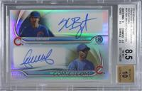 Kris Bryant, Arismendy Alcantara [BGS 8.5 NM‑MT+] #/25