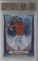 Manuel Margot [BGS 9.5 GEM MINT] #/10