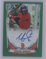 Manuel Margot [Mint or Better] #/75