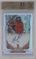 Manuel Margot [BGS 9.5 GEM MINT] #/500