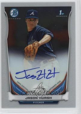 2014 Bowman - Prospect Autographs Chrome #BCAP-JHU - Jason Hursh