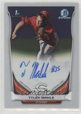 2014 Bowman - Prospect Autographs Chrome #BCAP-TMA - Tyler Mahle