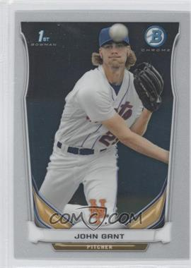 2014 Bowman - Prospects Chrome #BCP74 - John Gant