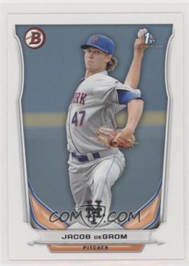 2014 Bowman - Prospects #BP73 - Jacob deGrom