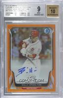 Billy Hamilton [BGS 9 MINT] #/25