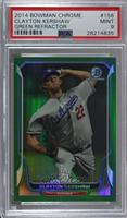 Clayton Kershaw [PSA 9 MINT] #/75