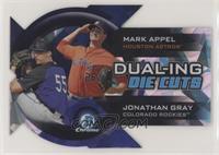 Mark Appel, Jonathan Gray #/99