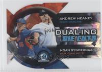 Andrew Heaney, Noah Syndergaard #/99