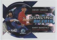 Henry Owens, Gary Sanchez #/99