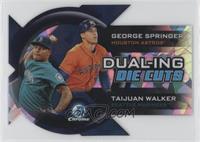 George Springer, Taijuan Walker #/99