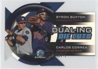 Byron Buxton, Carlos Correa [EXtoNM]