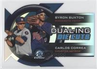 Byron Buxton, Carlos Correa