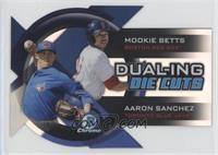 Mookie Betts, Aaron Sanchez