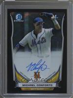 Michael Conforto (Issued in 2015 Bowman Chrome) /15