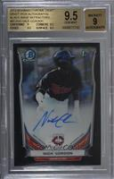 Nick Gordon [BGS 9.5 GEM MINT] #7/15