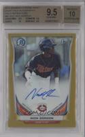 Nick Gordon [BGS 9.5 GEM MINT] #/50
