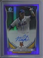 Michael Conforto (Issued in 2015 Bowman Chrome) /10