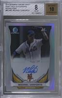 Michael Conforto (Issued in 2015 Bowman Chrome) [BGS8NM‑MT]