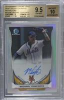 Michael Conforto (Issued in 2015 Bowman Chrome) [BGS9.5GEMMIN…