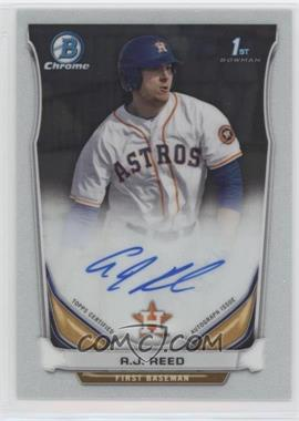 2014 Bowman Draft Picks & Prospects - Chrome Draft Pick Autographs #BCA-AR - A.J. Reed