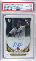 Michael Conforto (Issued in 2015 Bowman Chrome) [PSA10GEMMT]