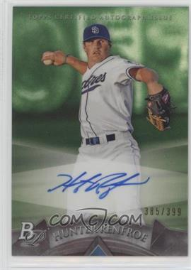 2014 Bowman Platinum - Autographed Prospects - Green Refractor #AP-HR - Hunter Renfroe /399