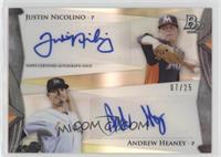 Justin Nicolino, Andrew Heaney /25