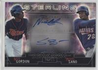 Miguel Sano, Nick Gordon #/35