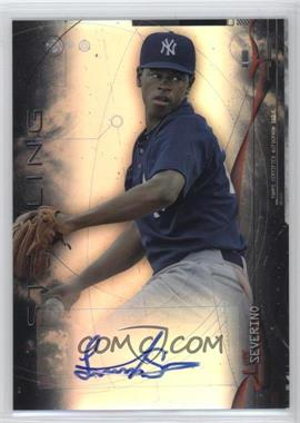 2014 Bowman Sterling - Prospect Autographs - Refractor #BSPA-LS - Luis Severino /150