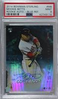 Mookie Betts [PSA 9 MINT] #/25