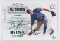 Ben Rowen /50