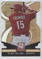 Mark Trumbo #/49