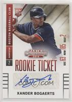 Xander Bogaerts [Noted]