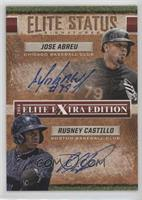 Jose Abreu, Rusney Castillo #/15