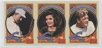 Dan Brouthers, Jacqueline Kennedy, Ernie Nevers