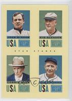 Casey Stengel, Connie Mack, Kid Gleason, John McGraw