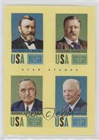 Harry S. Truman, Ulysses S. Grant, Dwight D. Eisenhower, Theodore Roosevelt