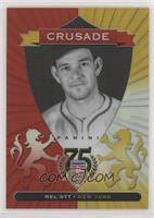 Mel Ott Serial Numbered Baseball Cards