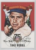 Yogi Berra #/75