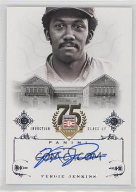 2014 Panini Hall of Fame - Signatures #81 - Fergie Jenkins