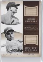 Lou Gehrig, Pee Wee Reese #/49