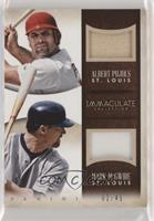 Albert Pujols, Mark McGwire #/49