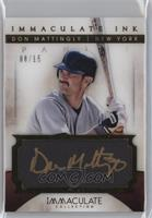 Don Mattingly /15