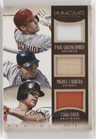 Chris Davis, Miguel Cabrera, Paul Goldschmidt [EX to NM] #/79